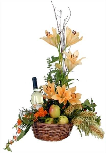çiçek ve meyve sepeti