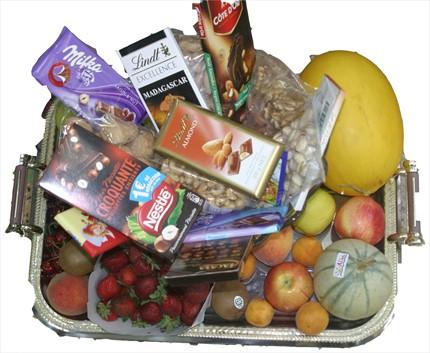 Meyve ve hediye sepeti
