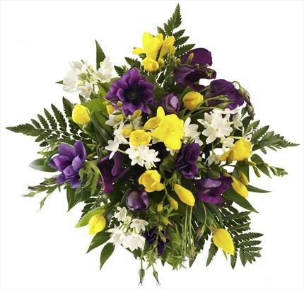 Her vesileye uygun - extra çiçeklerden buket