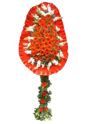 Cerberarlarla hazırlanmış düğün ve açılış çiçeği ortalama boy (225-250 cm)
