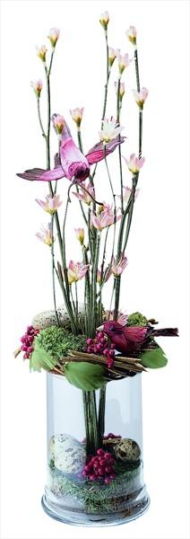 Özel dekore edilmiş bitki aranjmanı