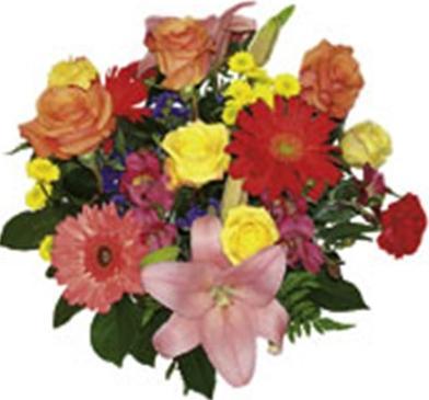 Mevim çiçeklerinden buket