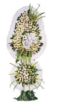 2 katlı  hazırlanmış model duvak açılış ve düğün çiçeği çelenk sepet duvak